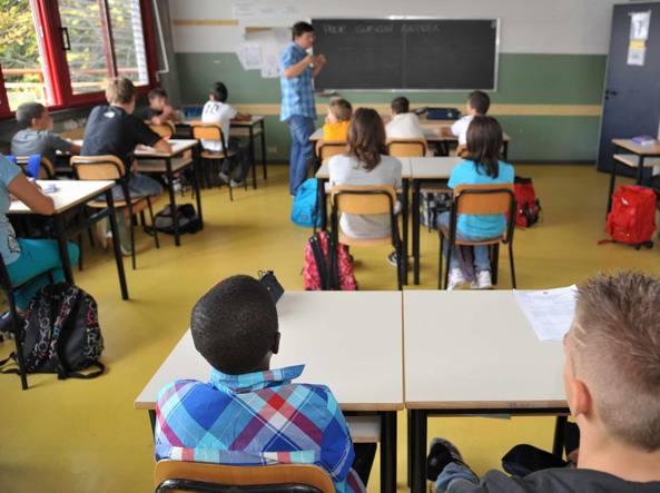 Lezione in classe (FotogrammaBergamo)