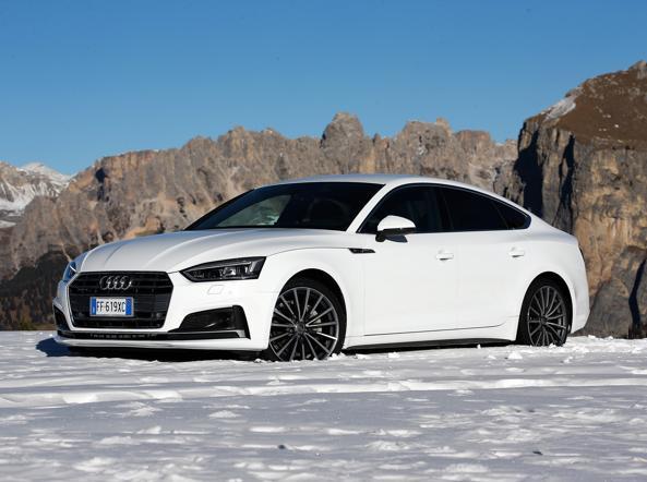 La Audi A5 sportback