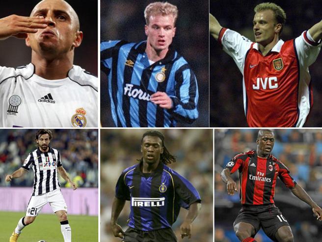 Da Jovetic a Pirlo, da Seedorf a Coutinho, prima discussi poi star dopo l'addio all'Inter