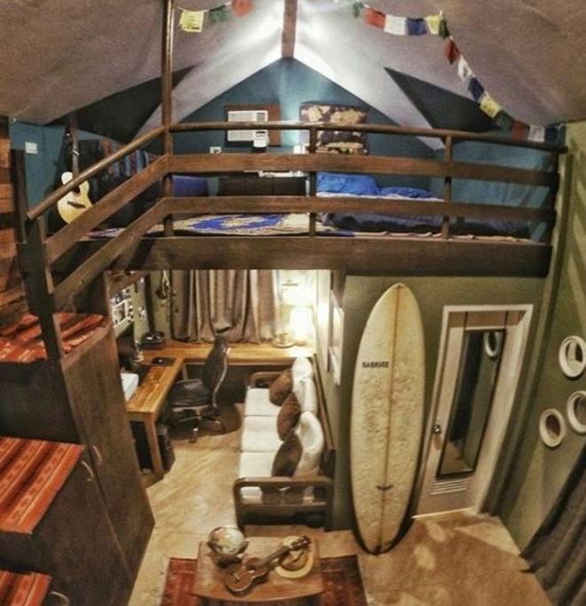 Quando il fascino nei piccoli spazi mini appartamenti da copertina - Camere da letto piccoli spazi ...