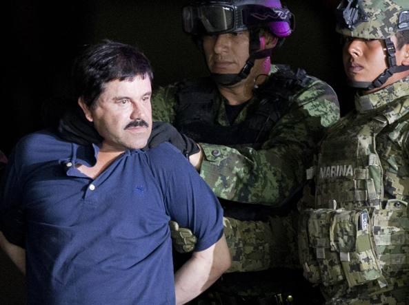 Messico, il boss El Chapo estradato negli Usa