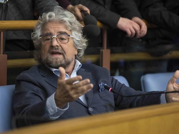 Beppe Grillo dopo la sentenza della Consulta: obiettivo 40%