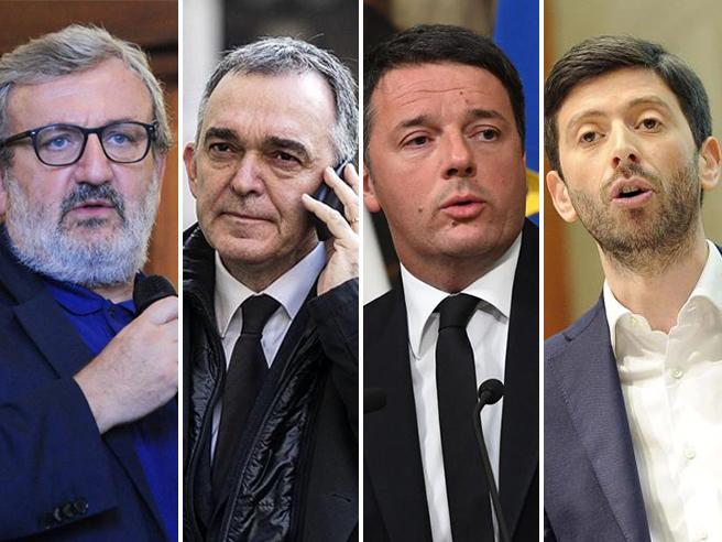Renzi, Speranza, Rossi  e Emiliano: un poker per la segreteria Pd