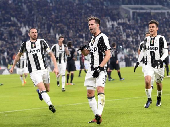 La Juventus soffre ma vola in semifinale