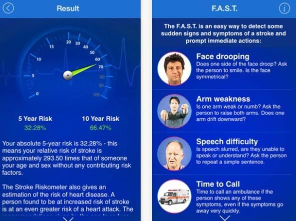 "L'app ""Riskometer"""