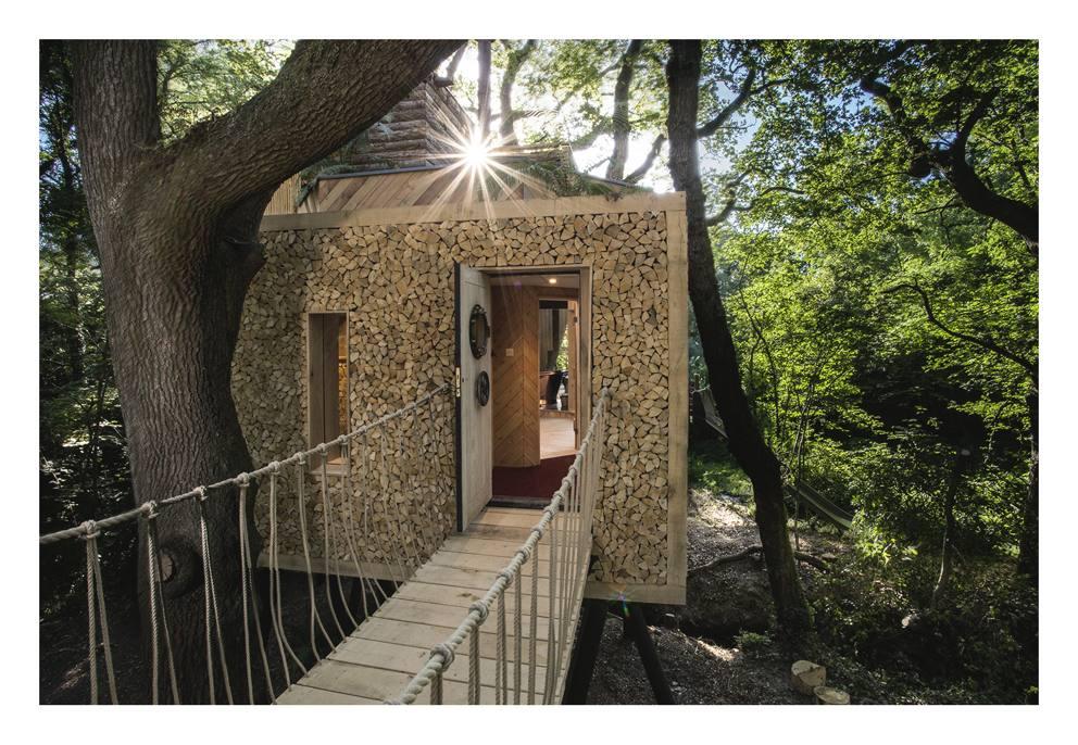 Vasca idromassaggio sauna e forno a legna lusso e design for Planimetrie della casa sull albero