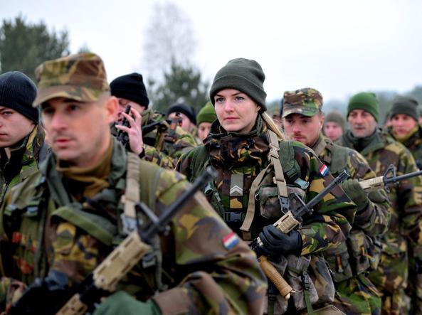 Esercitazioni Nato in Polonia
