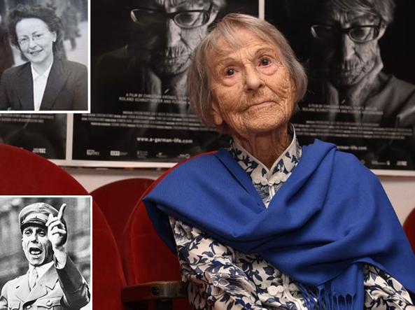 E' morta (a 106 anni) Brunilde Pomsel la segretaria di Goebbels
