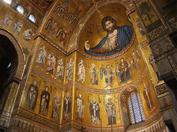 Cattedrale di Monreale, nel percorso arabo-normanno Unesco