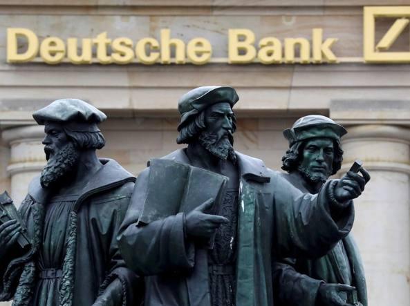 Deutsche Bank dovrà pagare multe per quasi 600 milioni €