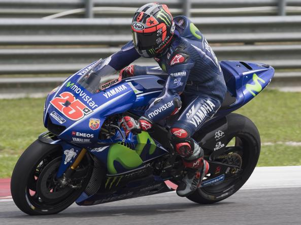 Viñales in azione (Lazzari/Getty)