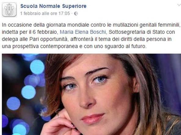 Piazza dei Cavalieri: Maria Elena Boschi contestata alla Normale