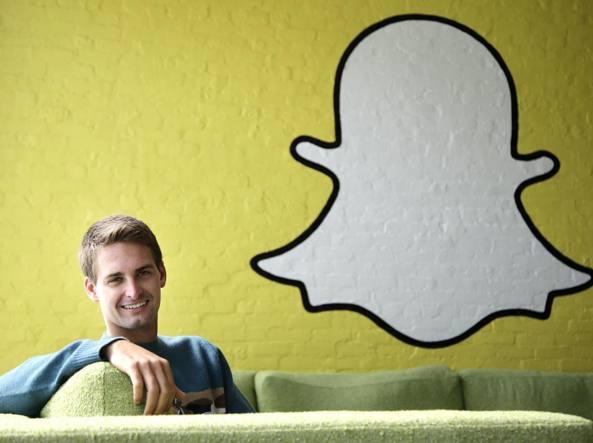 Snapchat: calano visualizzazioni, pronto sbarco in Borsa