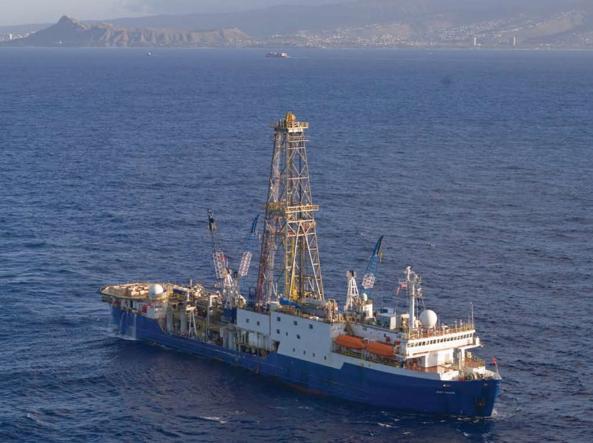La nave specializzata Joides Resolution