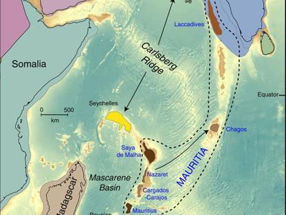 L'estensione dei rinvenimenti riconducibili a Mauritia