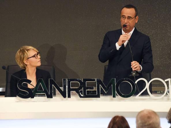 Sanremo, paura per Maria De Filippi: