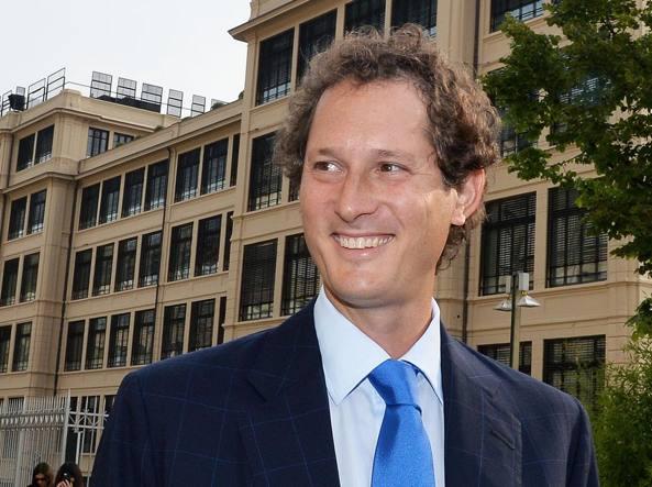 Joh n Elkann presidente di Exor azionista di maggioranza della Juventus