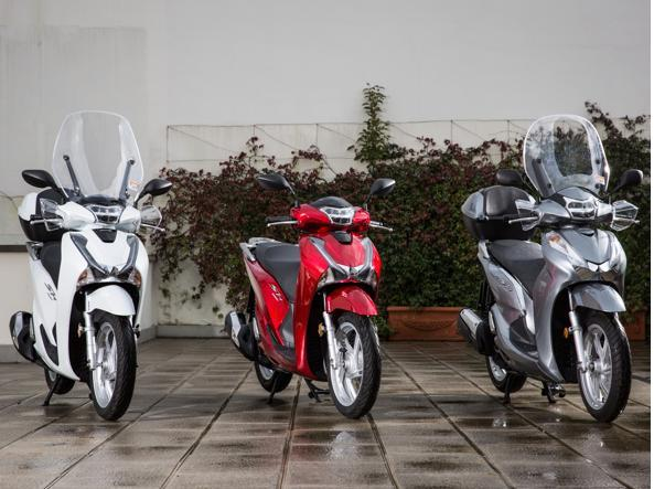 I nuovi Honda SH
