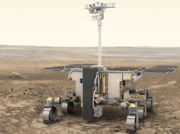 Il rover ExoMars (Esa)