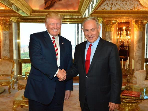Trump e Netanyahu in settembre a New York
