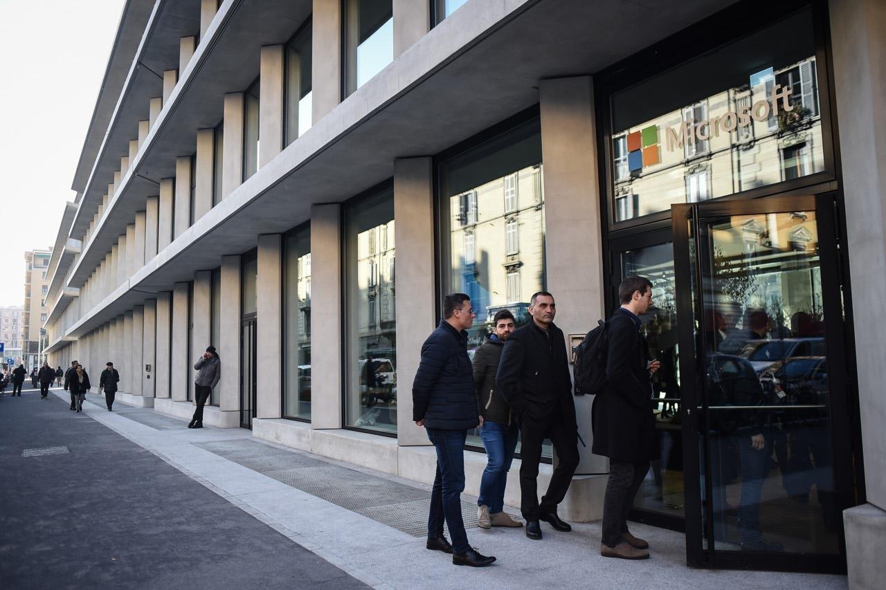 La nuova casa di microsoft a milano for Corriere della sera casa