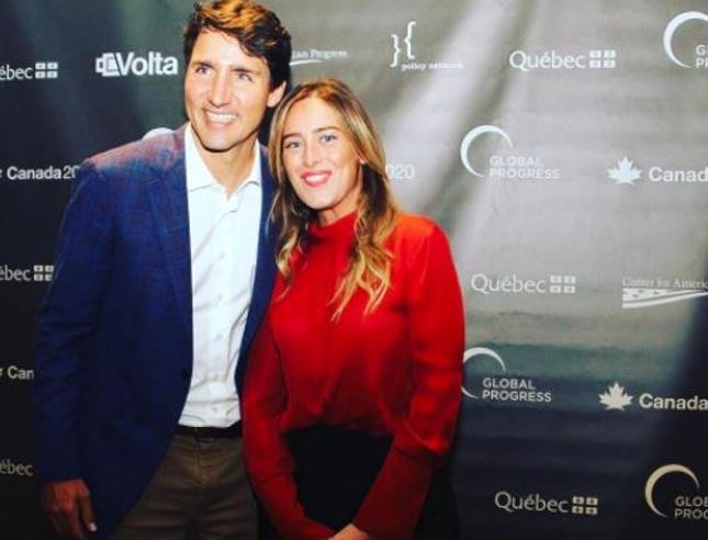 Justin  Trudeau «conquista» anche Maria Elena Boschi