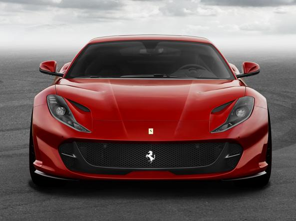 La nuova Ferrari 812 Superfast