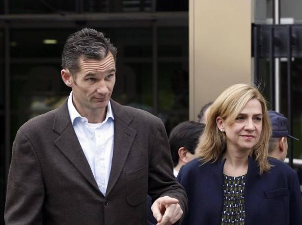 Scandalo Noos: assolta la sorella del re Felipe, condannato il marito