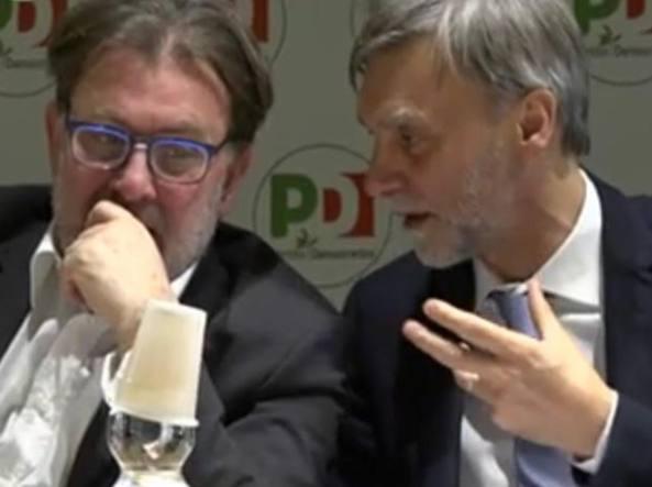 Il dialogo tra Michele Meta e Graziano Delrio