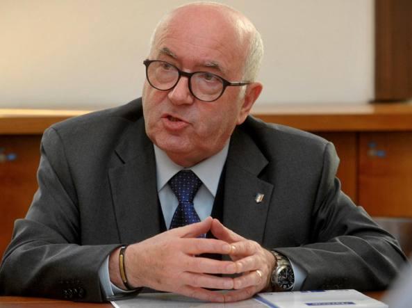 Carlo Tavecchio, presidente della Figc (Lapresse)