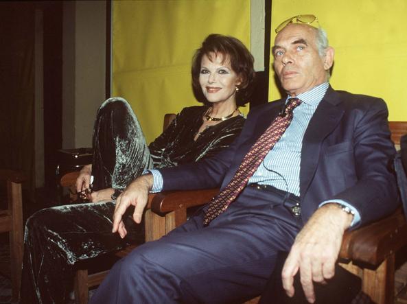 Pasquale Squitieri con Claudia Cardinale