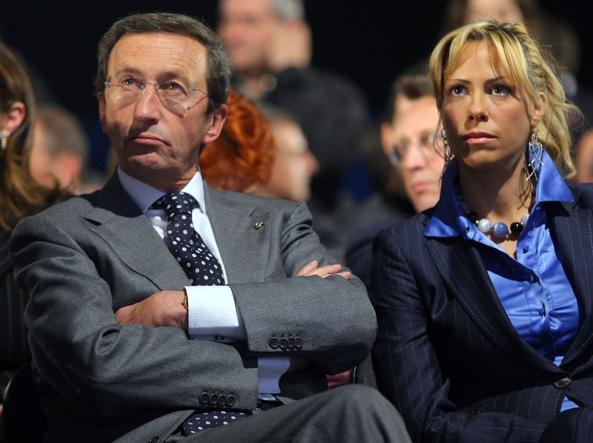 Gianfranco Fini e la compagna Elisabetta Tulliani
