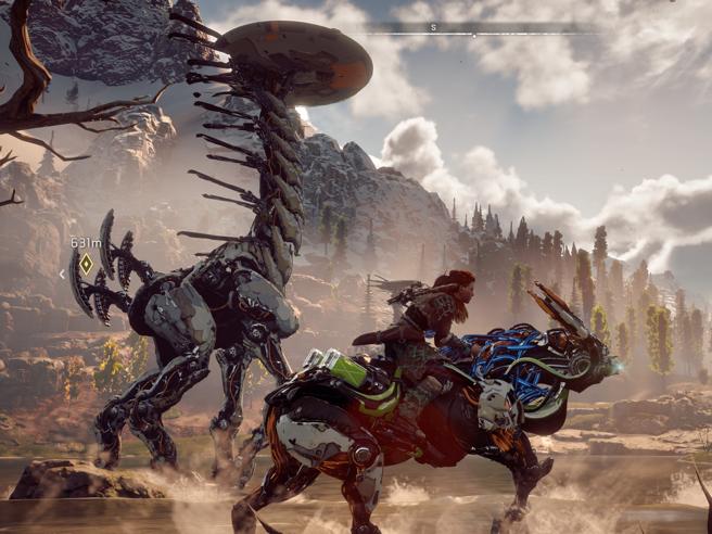 Horizon Zero Dawn, la battaglia di Aloy (la nuova Lara Croft) tra dinosauri-robot