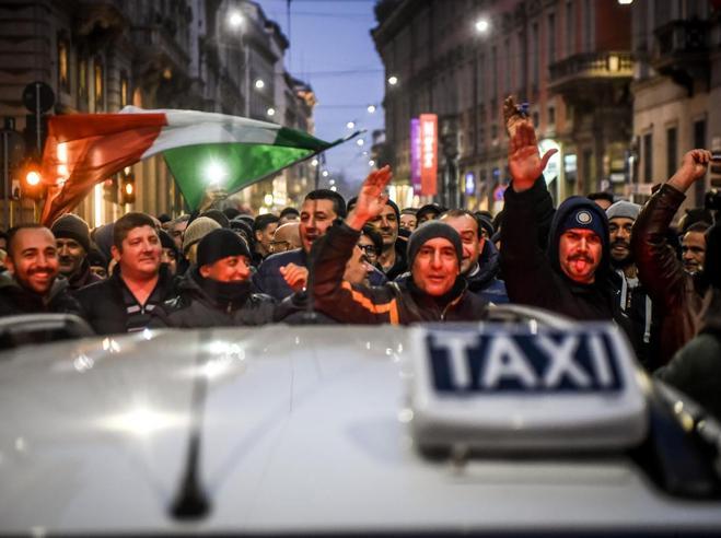 Roma, accordo raggiunto sui taxiDopo una giornata di incidenti