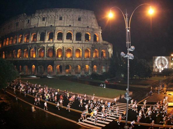 La Corriroma, tradizionale prova notturna romana, si allunga: da 10 chilometri passa a 21
