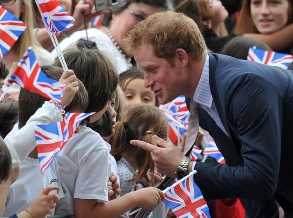 Il principe Harry, 32 anni, è quinto nella linea di successione al trono britannico (Afp)
