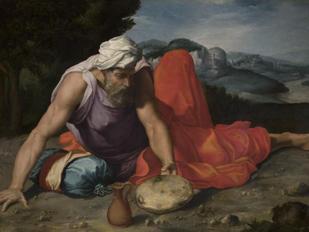 Daniele da Volterra, «Elia nel deserto»