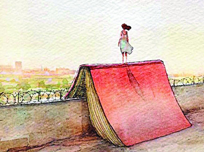 L'illustrazione di Gipi per il manifesto del Salone del libro di Torino