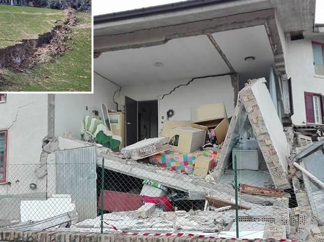Ponzano, la frana che divora il paese Evacuate 36 case, moto inarrestabile