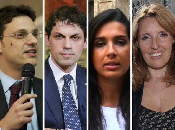 Da sinistra, Andrea Romizzi, Andrea Caroppo, Eleonora Mosco ed Elena Donazzan