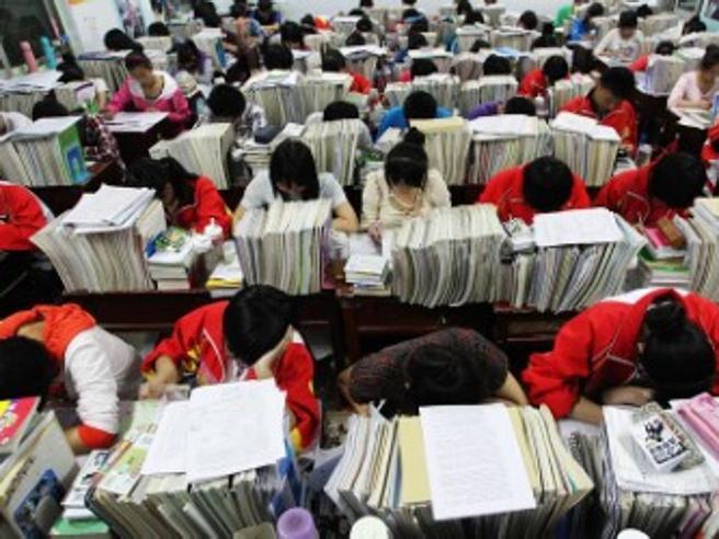 Prova il Gaokao, l'esame chefa tremare10 milioni di cinesi