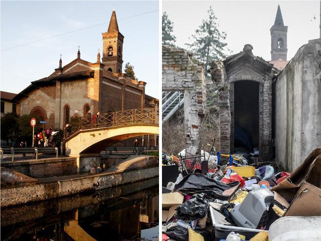San Cristoforo, gioiello sui Navigli assediato dalla discarica Foto
