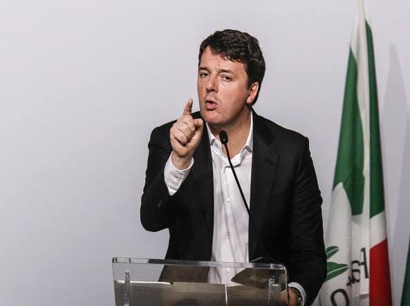 Il programma nel futuro di renzi tagli irpef e piano di for Email senatori italiani