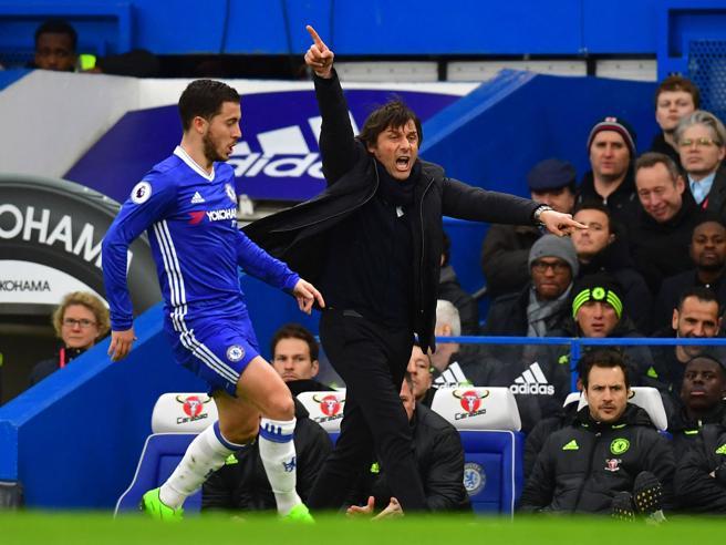 Chelsea: Antonio Conte, acrobata della panchina