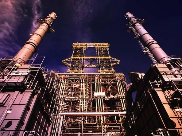 Un impianto petrolifero in Canada