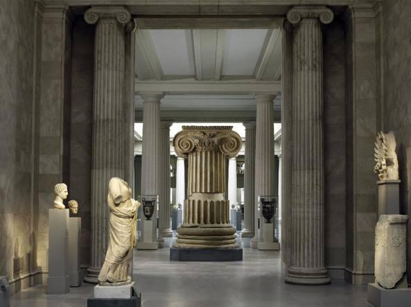 Le gallerie romane all'interno del Metropolitan Museum (Ansa/Pal)