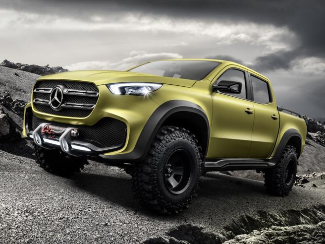 Mercedes, ecco il pickup Classe X