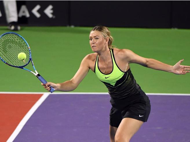 Tennis, Internazionali di Roma: Sharapova invitata con wild card