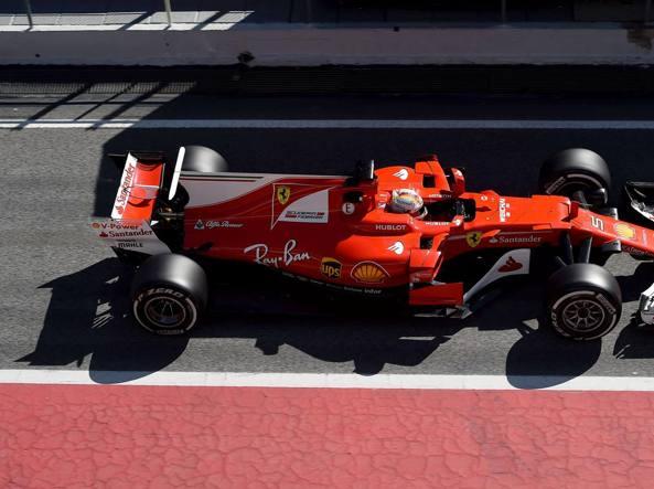 F1, test Barcellona: Bottas da record, Vettel subito dietro