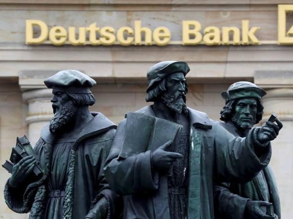 Reazione negativa di Deutsche Bank agli annunci di Cryan